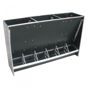 pig hopper with dividers