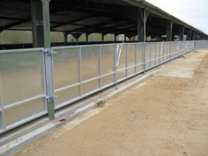 Sheeted Stainless Steel Gates