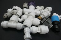 water fittings and pipes